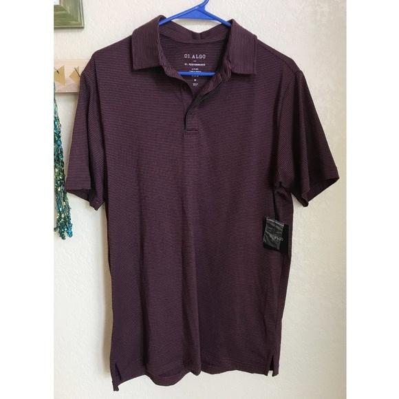 e4e6c8bd 01 Algo Shirts | Performance Shirt In Burgundy | Poshmark